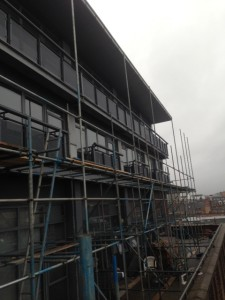 removal of scaffold
