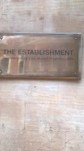 Establishment Sign 19.05.16