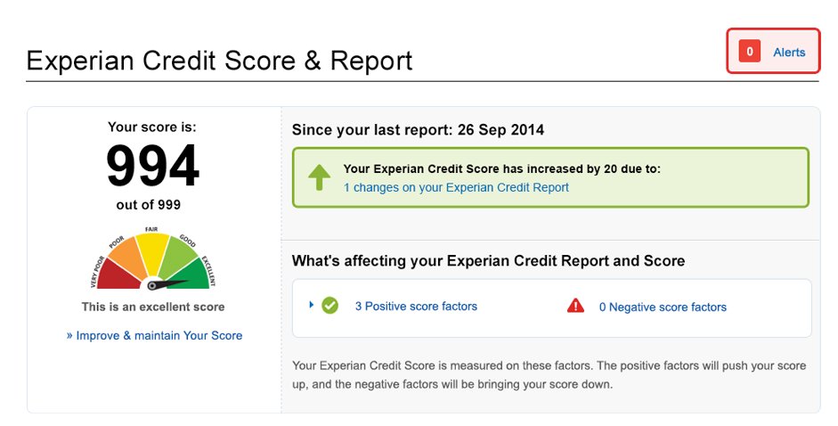 Improve your experian credit rating through rent payments walton