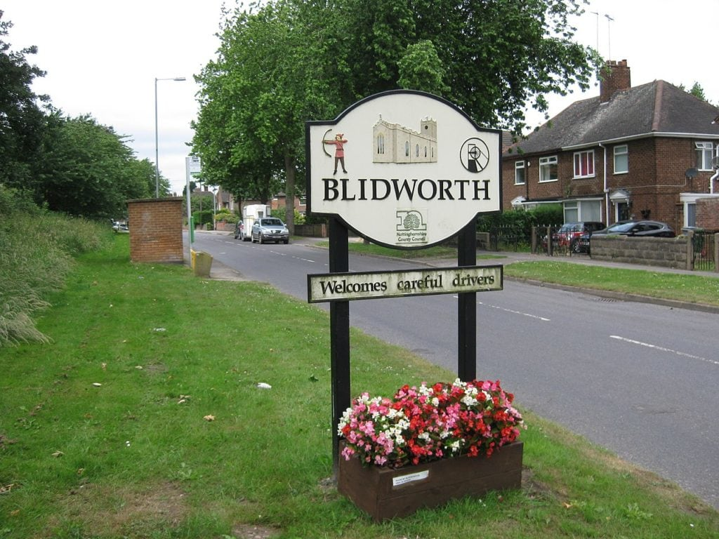estate agents blidworth